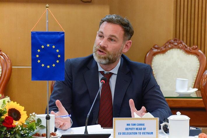 Ông Tom Corrie, Phó Trưởng phái đoàn EU tại Việt Nam