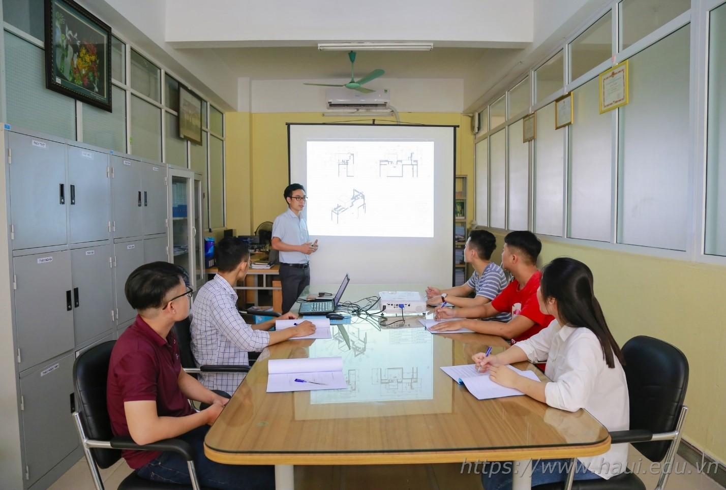 Sinh viên khoa Cơ khí với nghiên cứu và chế tạo hệ thống kiểm tra linh kiện điện tử thời gian thực ứng dụng công nghệ xử lý ảnh