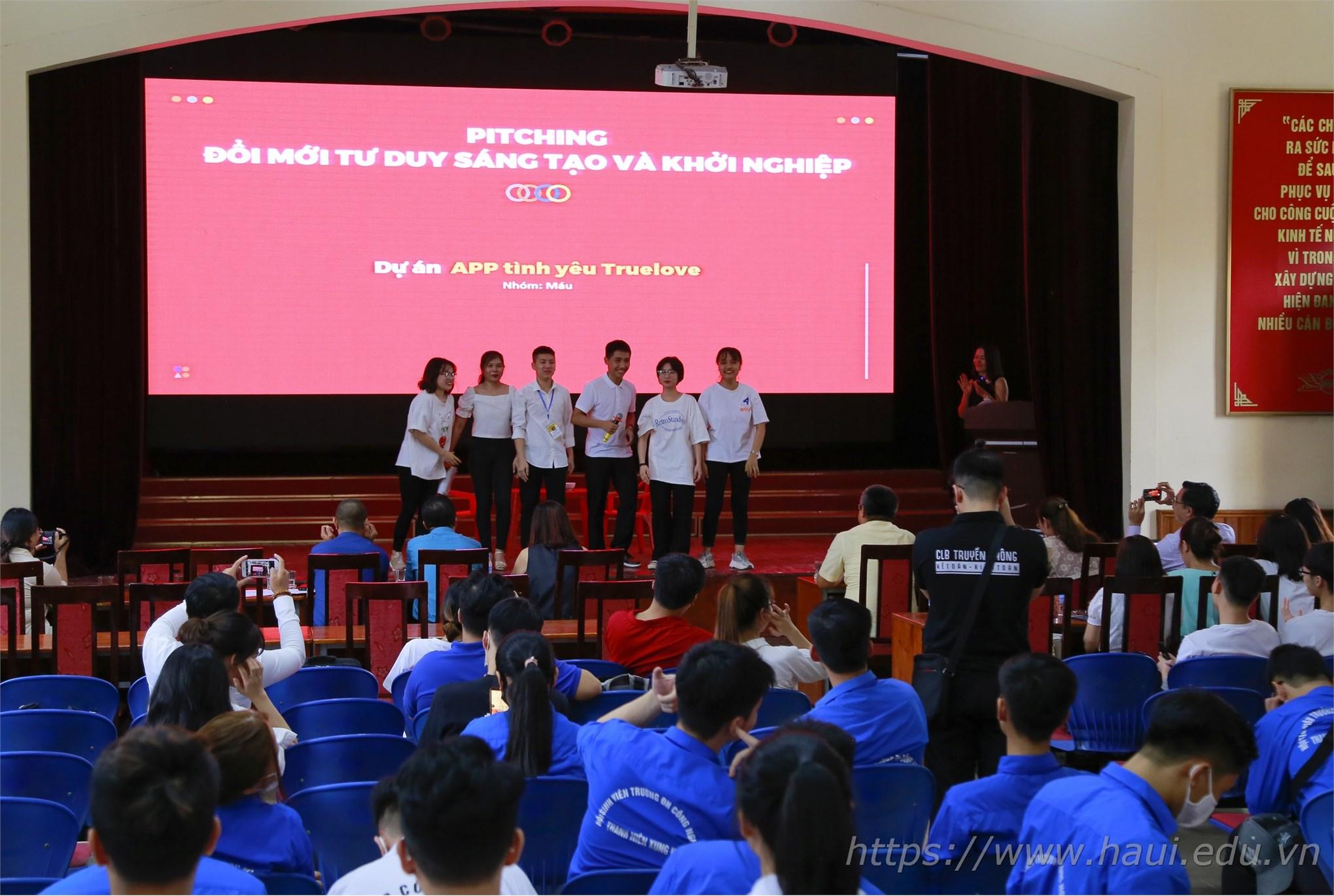 """Đào tạo """"Tư duy đổi mới sáng tạo và khởi nghiệp"""" cho sinh viên Đại học Công nghiệp Hà Nội"""