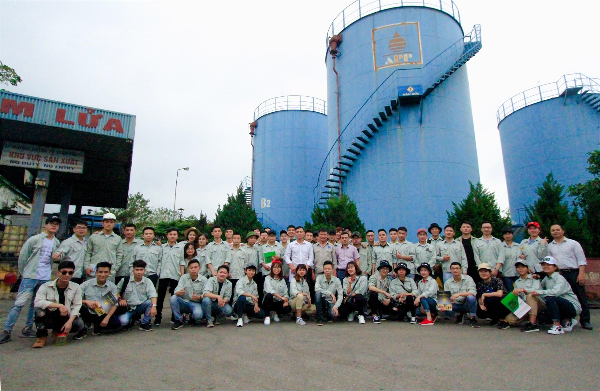 Ngành Công nghệ kỹ thuật Hóa học vững bước với Cách mạng Công nghiệp 4.0