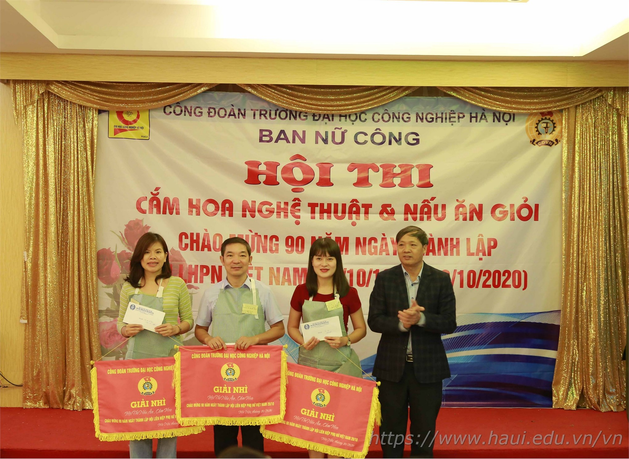 Cooking and Flower Arrangement Contest to celebrate 90th founding anniversary of Vietnam Women's Union
