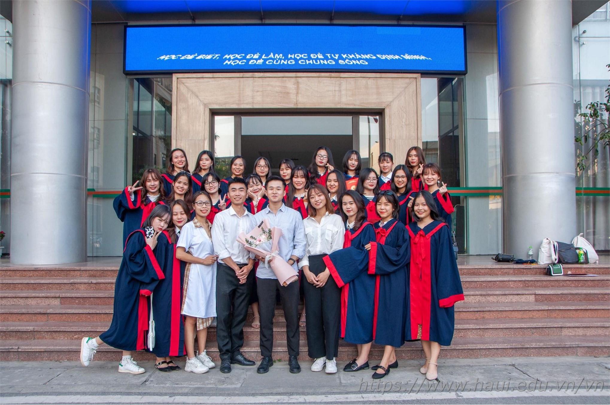 HaUI held the Graduation Ceremony & Degree Awarding Ceremony for 3455 Graduates of 2020