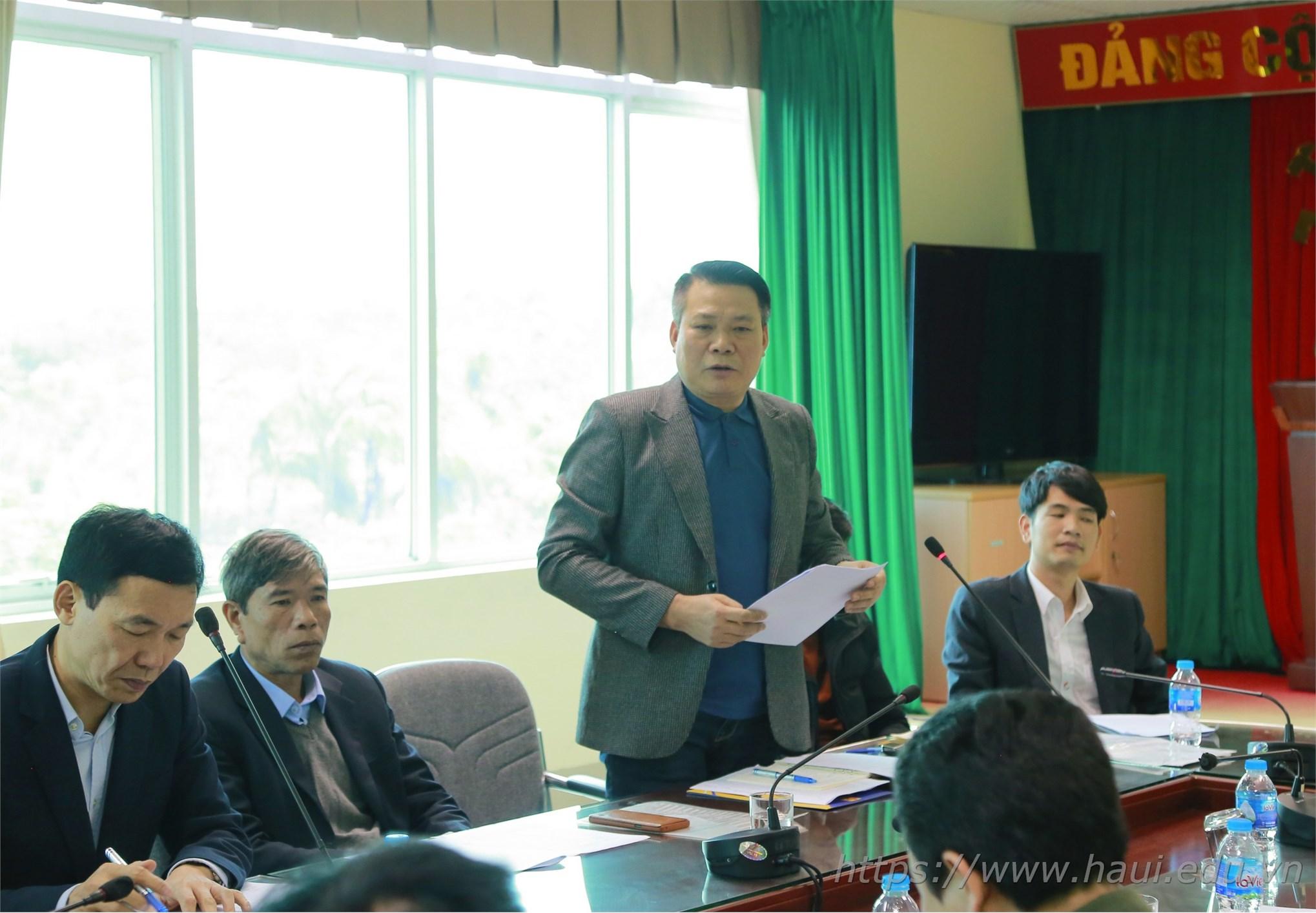 Hội nghị tổng kết công tác đảm bảo ANTT năm học 2019 - 2020