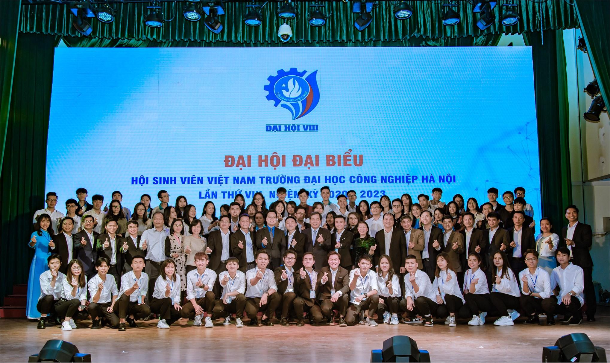 Đại hội Đại biểu Hội sinh viên Việt Nam trường Đại học Công nghiệp Hà Nội lần thứ VIII, nhiệm kỳ 2020 - 2023