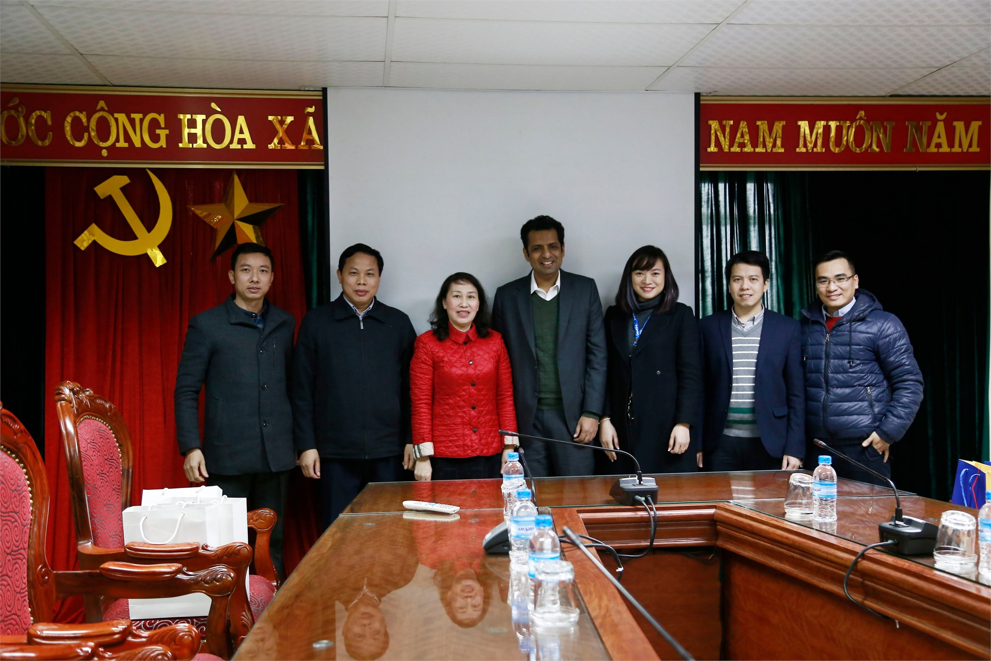 Đại học Công nghiệp Hà Nội làm việc với HCL