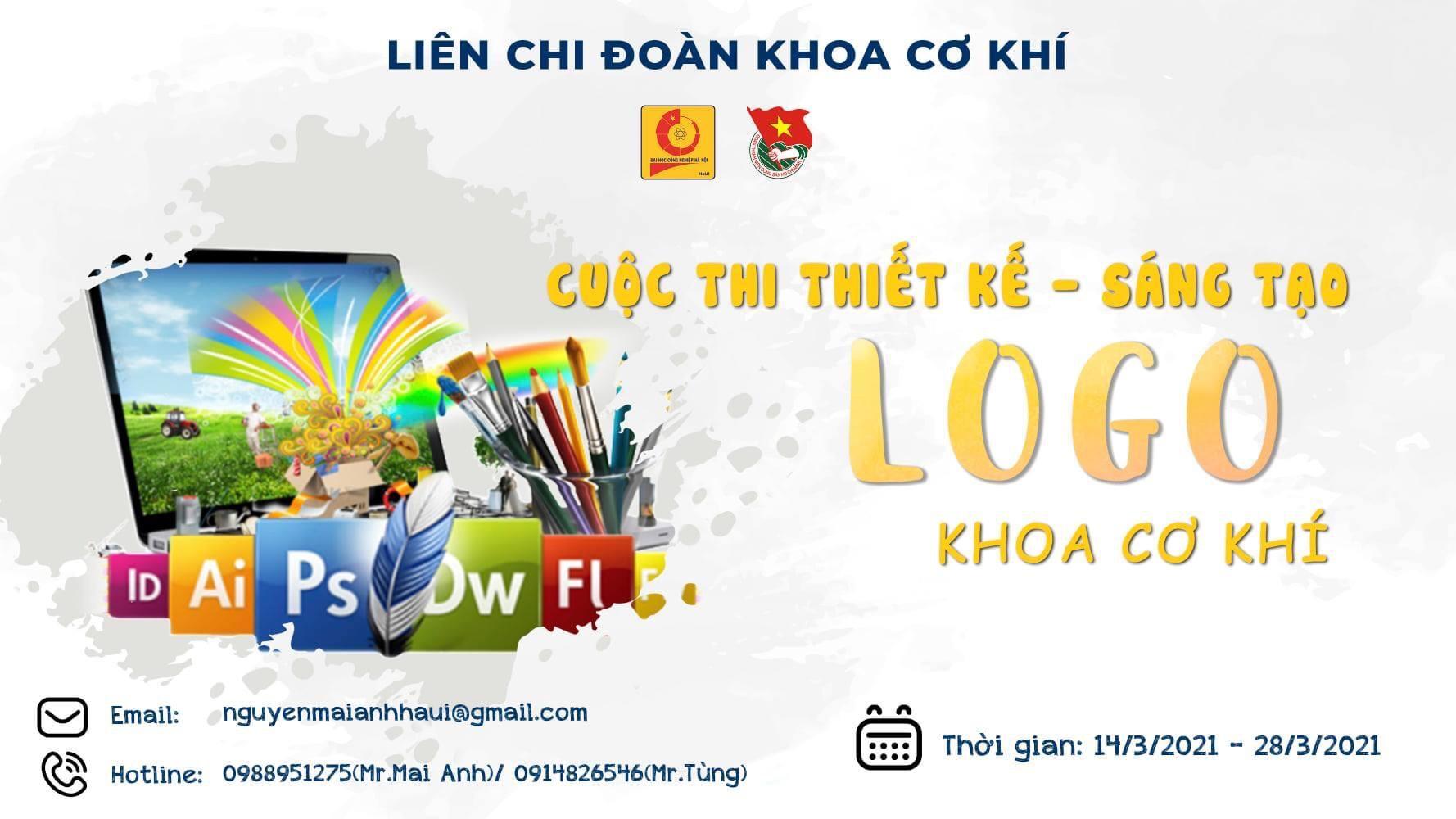Tổ chức cuộc thi Thiết kế mẫu biểu trưng (Logo) khoa Cơ khí