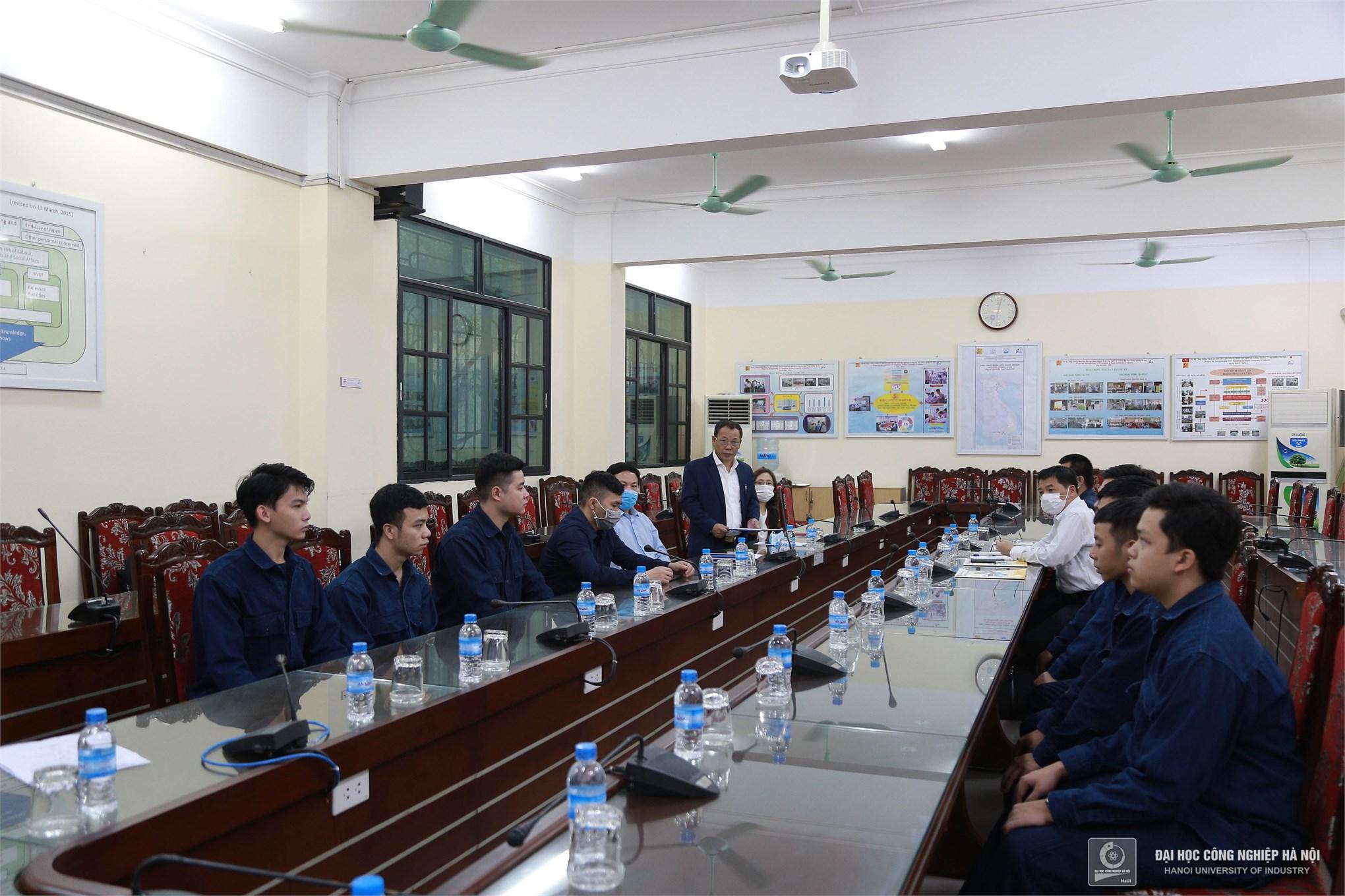 Khai giảng khóa đào tạo công nghệ hàn nâng cao theo tiêu chuẩn Nhật Bản tại Đại học Công nghiệp Hà Nội
