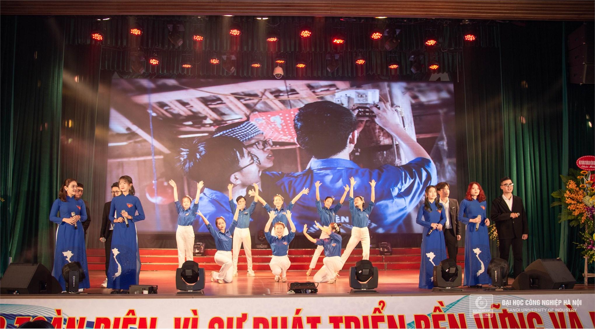 Tuổi trẻ Đại học Công nghiệp Hà Nội kỷ niệm 90 năm ngày thành lập Đoàn TNCS Hồ Chí Minh