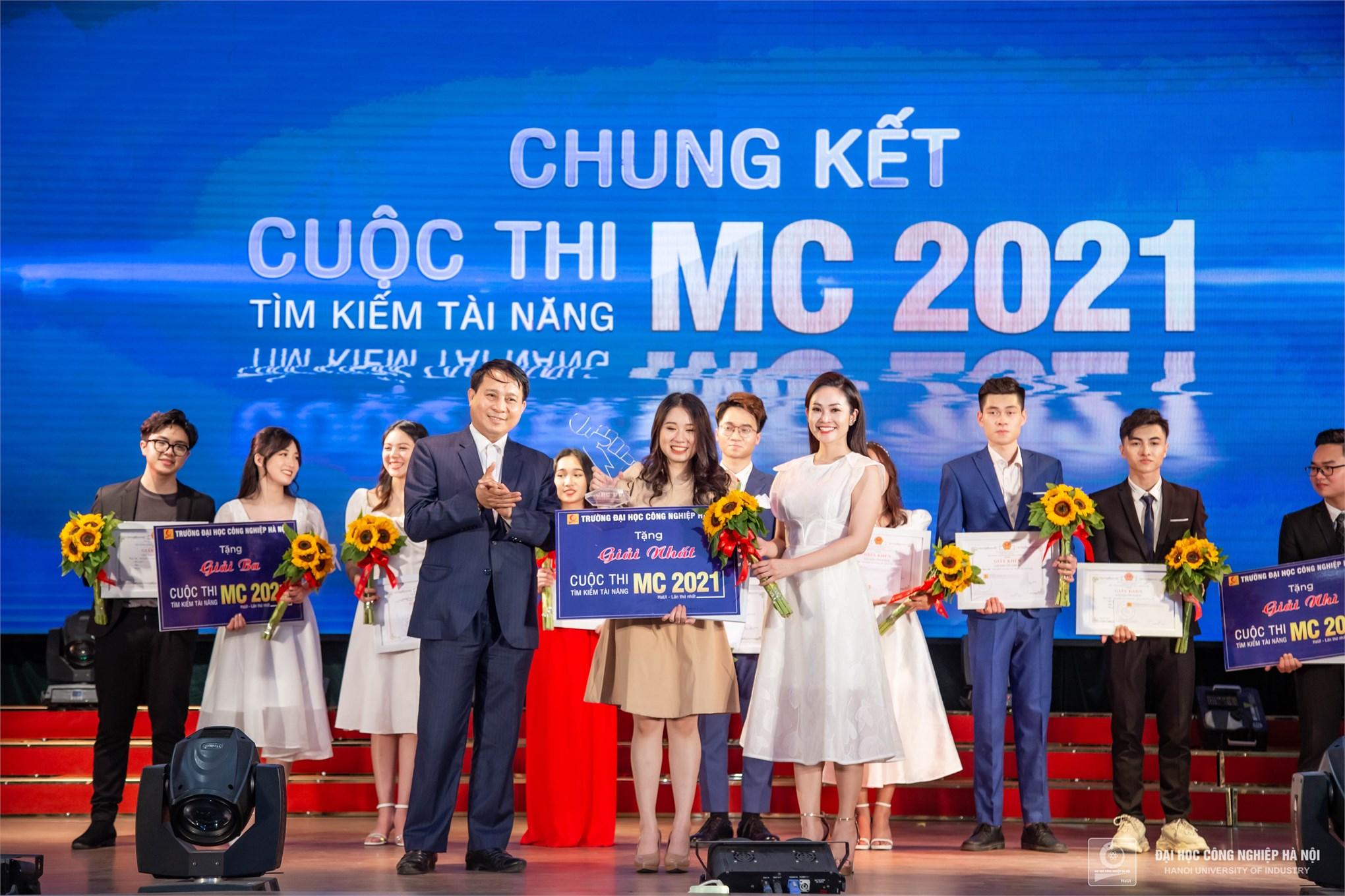 chung kết cuộc thi Tìm kiếm tài năng MC HaUI 2021