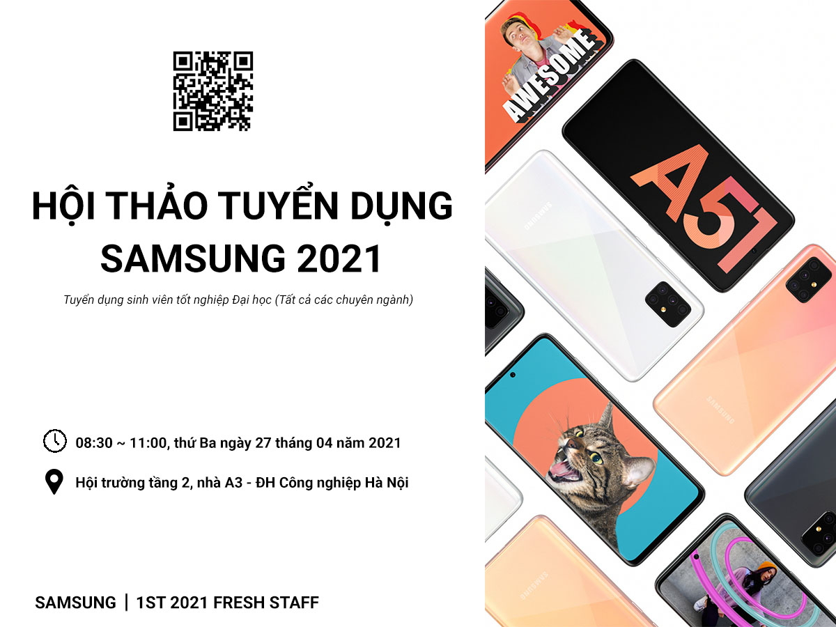 Hội thảo việc làm Công ty TNHH Samsung Electronics Việt Nam