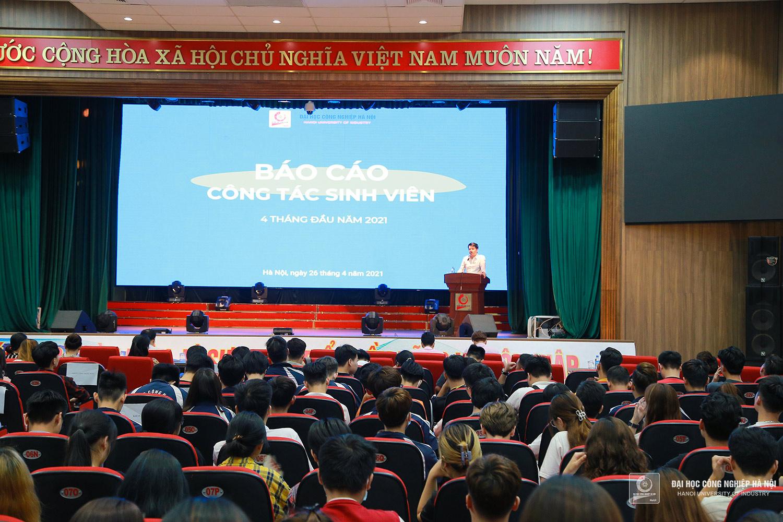 Hội nghị Lớp trưởng, Bí thư chi đoàn các lớp năm học 2020 - 2021