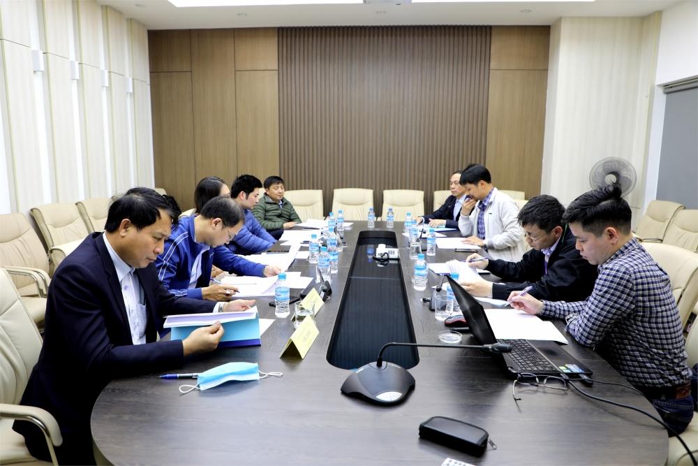 Trường Đại học Công nghiệp Hà Nội họp nghiệm thu đề tài: Thiết kế, chế tạo bộ thí nghiệm khảo sát thông số làm việc của các cảm biến và ECU động cơ