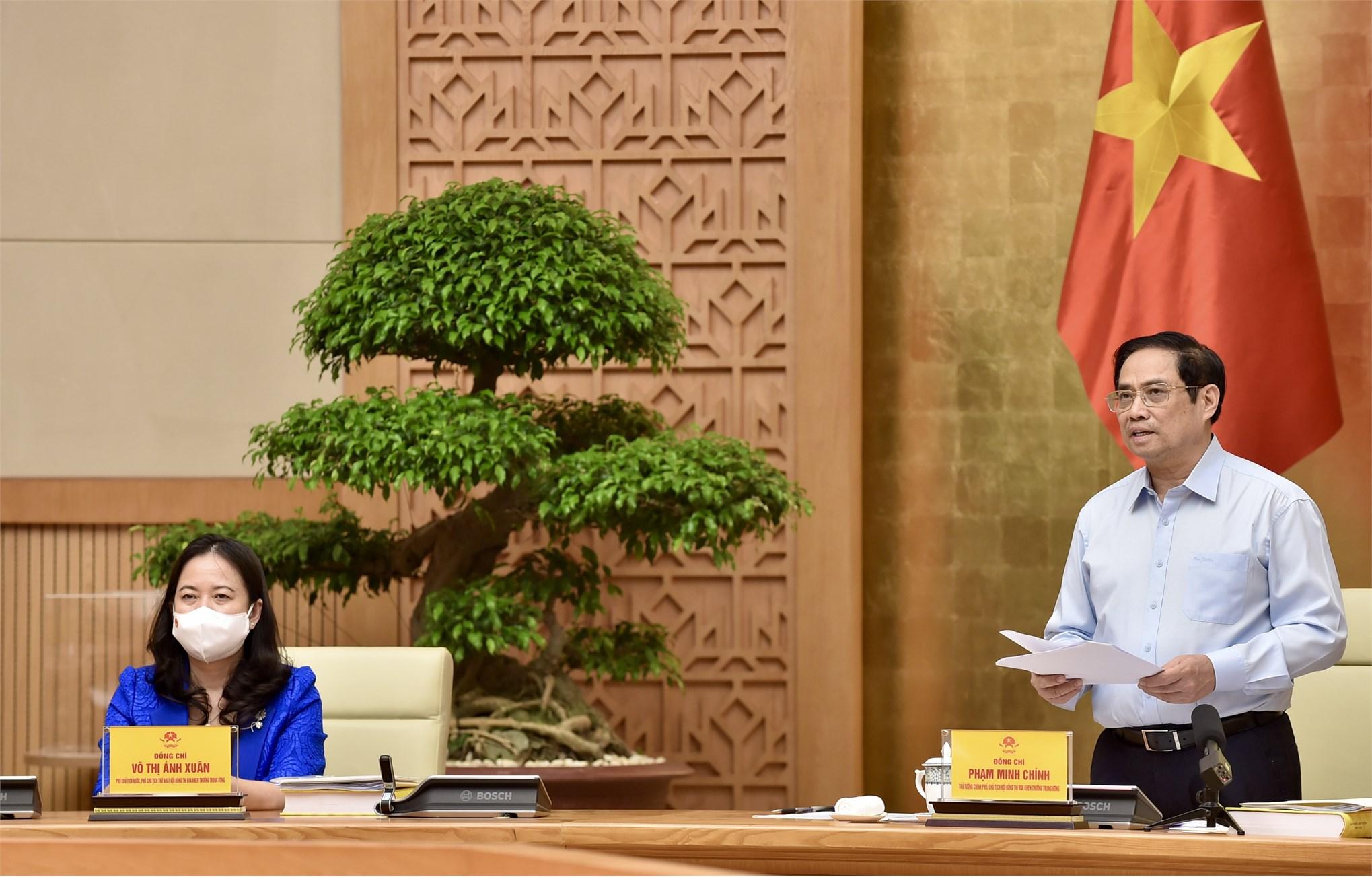 Thủ tướng phát động phong trào thi đua đặc biệt