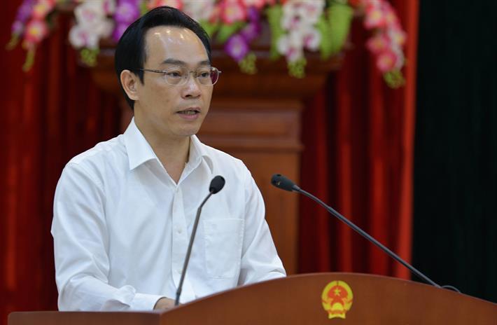 Thứ trưởng Hoàng Minh Sơn phát biểu khai mạc Hội nghị