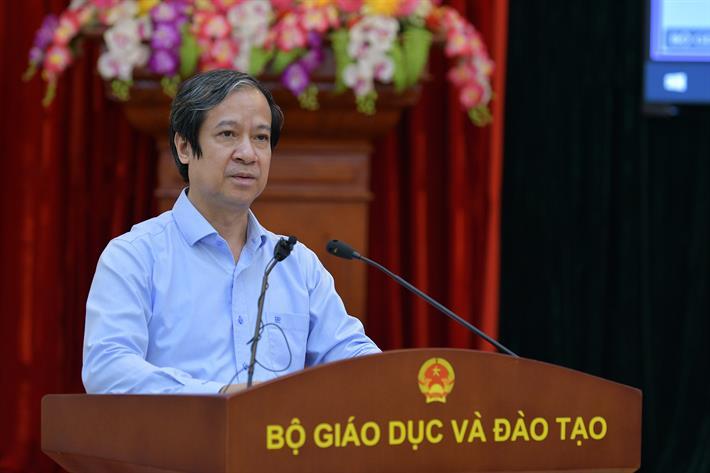 Bộ trưởng Nguyễn Kim Sơn phát biểu kết luận Hội nghị