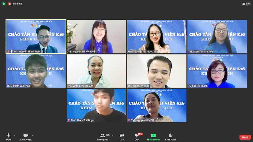 """Chương trình """"Chào tân sinh viên"""" đặc biệt của Đại học Công nghiệp Hà Nội"""