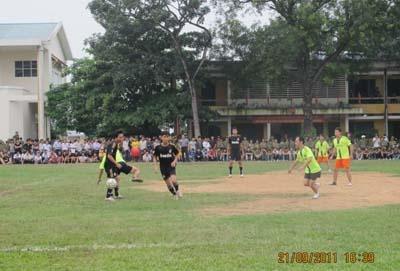 Khai mạc giải Bóng đá, bóng bàn, cầu lông năm 2011