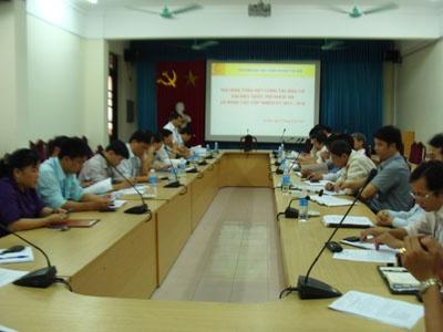 Tổng kết công tác bầu cử Đại biểu Quốc hội khoá 13 và đại biểu Hội đồng nhân dân các cấp nhiệm kỳ 2011 -2016