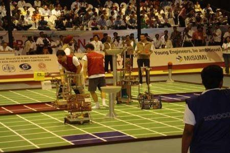 Chung kết Robocon 2008: VN đoạt giải ý tưởng hay nhất