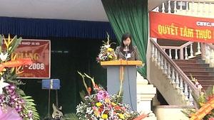 Khai giảng năm học 2007 - 2008