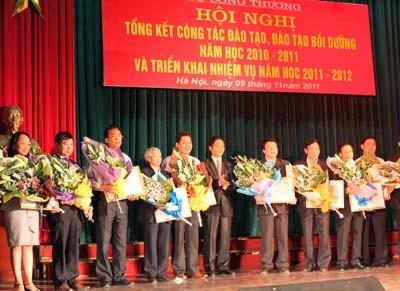 Hội nghị tổng kết công tác đào tạo năm học 2010 - 2011 và triển khai nhiệm vụ năm học 2011-2012 khối Giáo dục đào tạo Bộ Công Thương