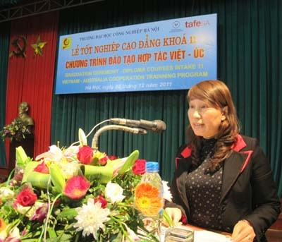 Lễ bế giảng khóa 11 Chương trình đào tạo hợp tác Việt Nam-Australia
