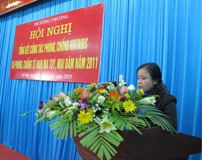 Hội nghị tổng kết công tác phòng chống HIV/AIDS và phòng chống tệ nạn ma túy, mại dâm Bộ Công Thương
