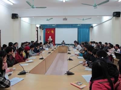Hội nghị tập huấn công tác biên soạn giáo trình