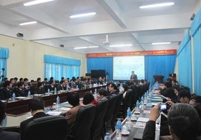 """Tọa đàm """"Kế hoạch phối hợp đào tạo năm 2012 về Thương mại điện tử và E-Learning"""""""