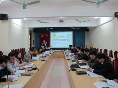 Hội thảo Báo cáo kết quả khảo sát doanh nghiệp năm 2010
