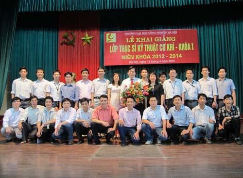 Lễ khai giảng khóa 1, chương trình Thạc sĩ ngành Kỹ thuật Cơ khí