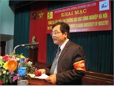 Hình ảnh lễ khai mạc Tuần 5S lần thứ 4 tại trường Đại học Công nghiệp Hà Nội