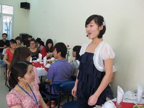 Gặp mặt, chia tay lưu học sinh Trung Quốc học tập tại trường Đại học Công nghiệp Hà Nội