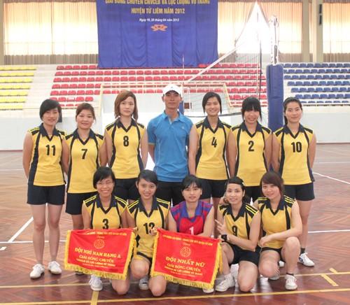 Giải bóng chuyền Công nhân viên chức lao động - Lực lượng vũ trang huyện Từ Liêm, thành phố Hà Nội