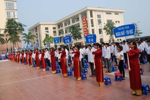 Trường Đại học Công nghiệp Hà Nội tổ chức khai giảng năm học 2012 - 2013