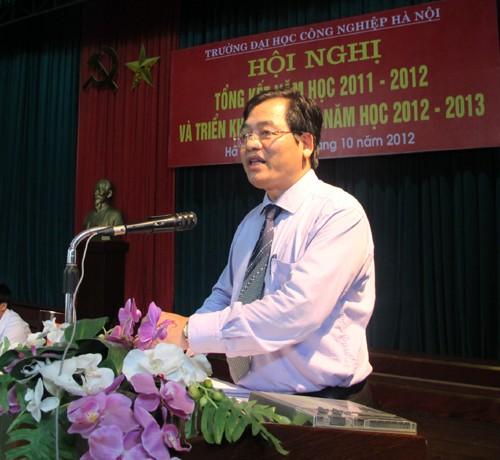 Hội nghị tổng kết năm học 2011-2012 và triển khai nhiệm vụ năm học 2012-2013