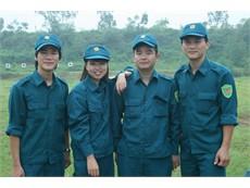 Tập huấn Dân quân tự vệ 2012