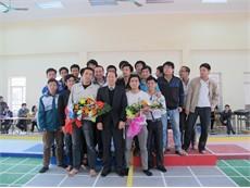 Đội Robocon khoa Điện tử đạt giải nhất tại cuộc thi cấp trường 2012