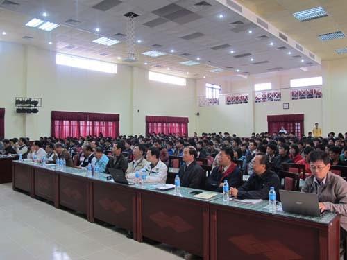 """Tổ chức hội thảo """"Cơ hội việc làm tại Công ty Formosa Hà Tĩnh"""""""