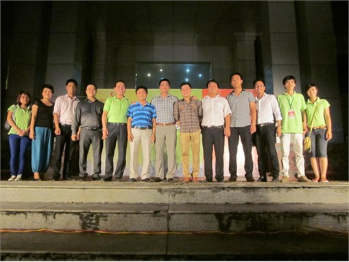 Sinh viên các lớp Khóa 5 học môn Tổ chức sự kiện tại Sơn Nam PlazaHưng Yên