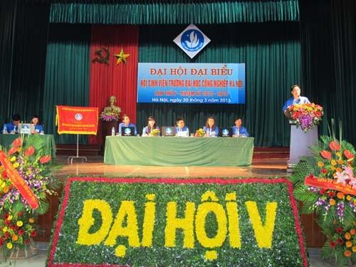 Đại hội Đại biểu Hội Sinh viên trường Đại học Công nghiệp Hà Nội lần thứ V, nhiệm kỳ 2013 – 2015