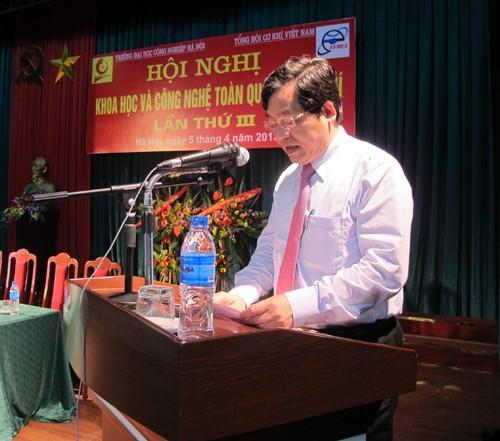 Hội nghị Khoa học và Công nghệ toàn quốc về Cơ khí lần thứ III