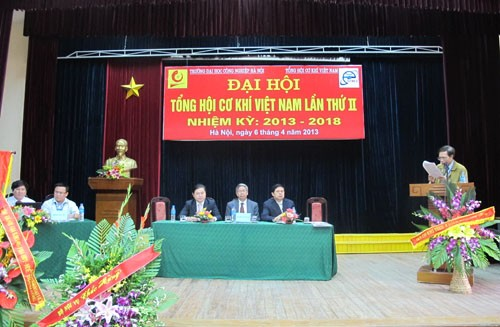 Đại hội Tổng hội Cơ khí Việt Nam lần thứ II