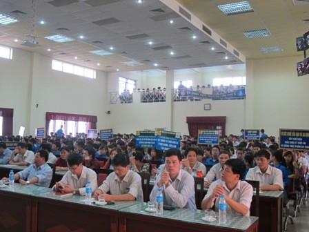 Hình ảnh hoạt động tuần 5S lần thứ 5 tại trường Đại học Công nghiệp Hà Nội