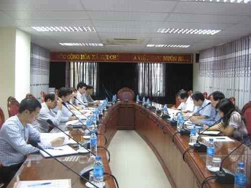 Vụ Phát triển nguồn nhân lực - Bộ Công Thương đến thăm, làm việc với trường