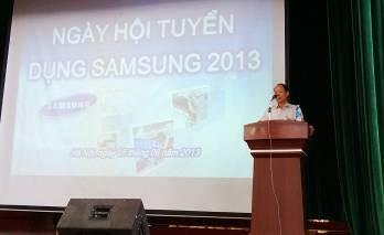 Ngày hội tuyển dụng Samsung 2013