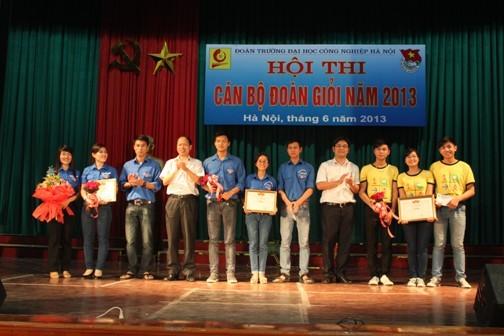 Hội thi cán bộ Đoàn giỏi năm 2013