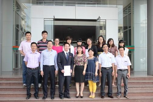 Tổng kết khóa học của trường Đại học Sư phạm Quảng Tây