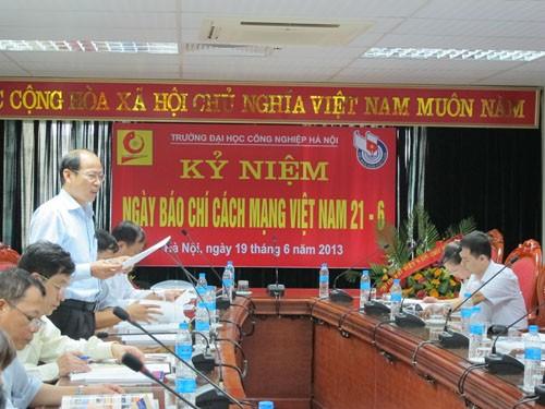 Kỷ niệm ngày Báo chí cách mạng Việt Nam 21/6
