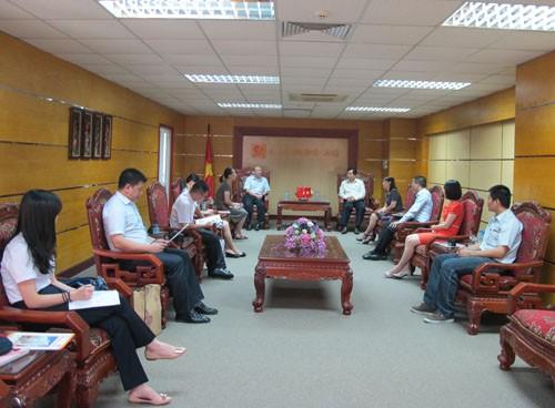 Ký kết thỏa thuận hợp tác đào tạo với trường Đại học Sư phạm Quảng Tây